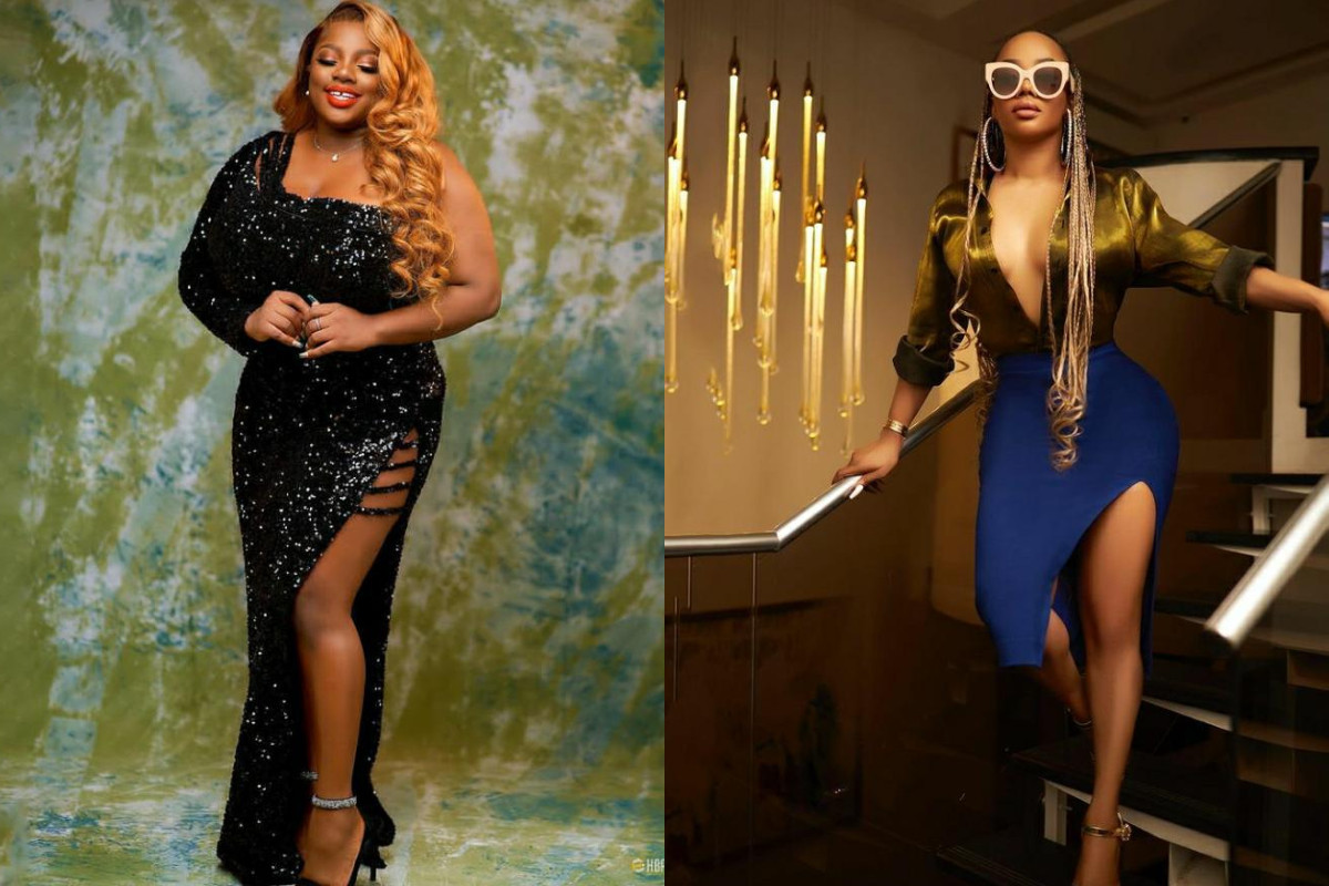 I haven?t seen boobs this huge in my entire life - Toke Makinwa gushes over #BBNaija?s Dorathy Bachor?s boobs (video)