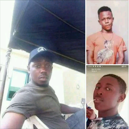 Update: Photos of the three young men killed during cult-related fight at birthday party in Benue community