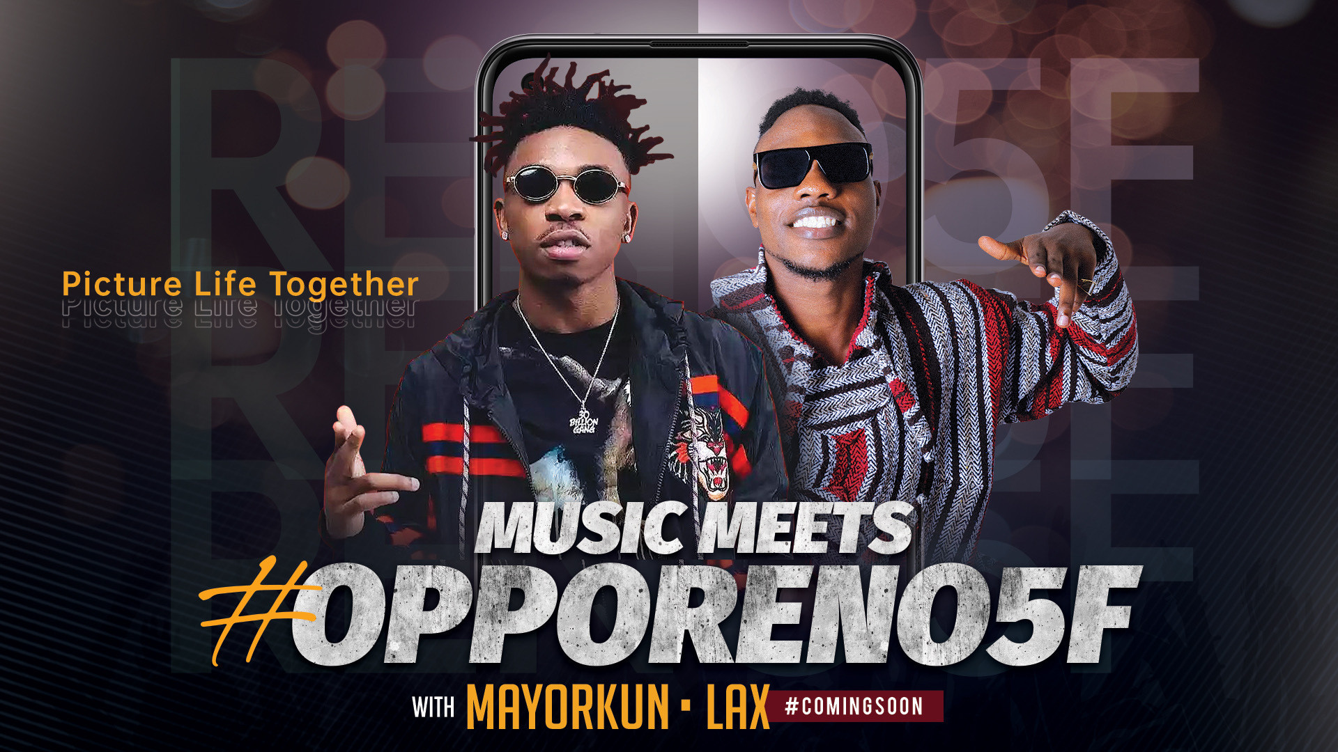 Mayorkun & L.A.X Set to Drop New OPPO Collaboration Project ?Dance?