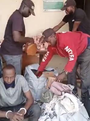 NDLEA nabs Chadian Boko Haram drug supplier in Taraba, recovers 477 grammes of cocaine and heroin in Kaduna (photos)