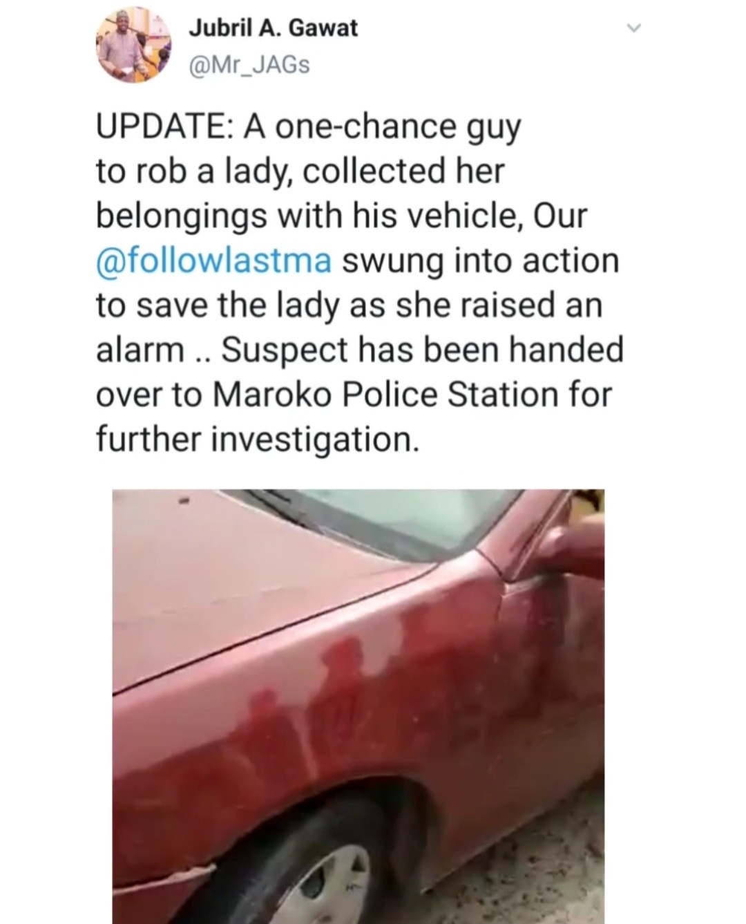 One-chance operator caught red-handed trying to kidnap a woman after robbing her in Lagos (video)