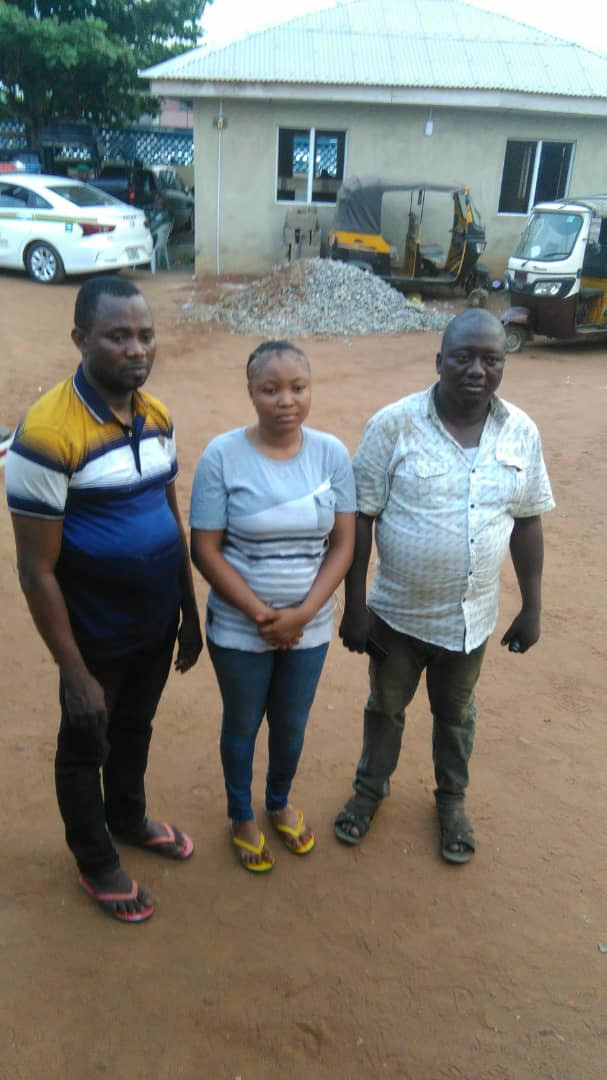 Three kidnap victims rescued unhurt in Ogun (photo)