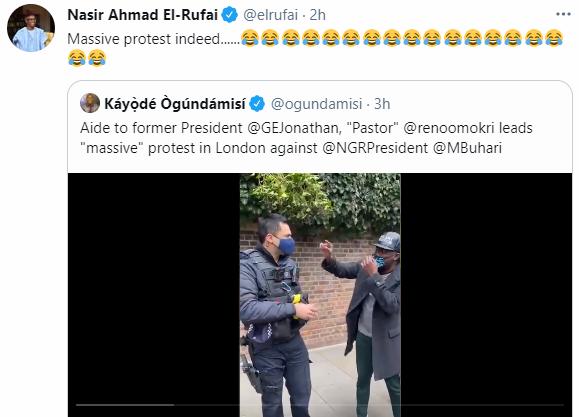 El-Rufai mocks Reno Omokri over his UK protest against President Buhari