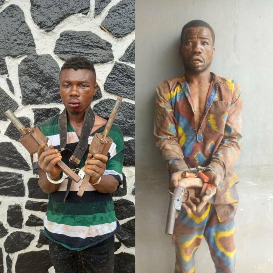 Serial killer cultists apprehended in Lagos (photos)