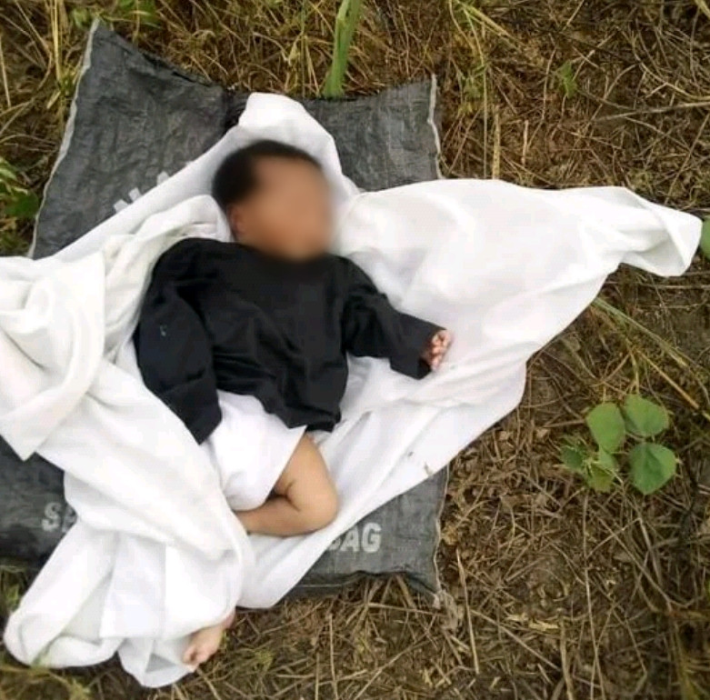 Abandoned 4-day-old baby found crying in bush in Delta community