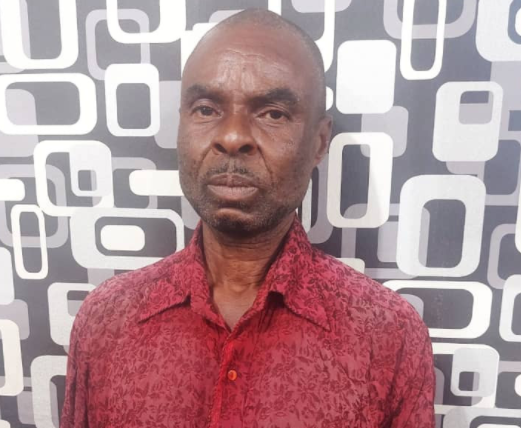 49-year-old man arrested for allegedly defiling his 12-year-old biological daughter in Ogun; says his wife was becoming old and unattractive