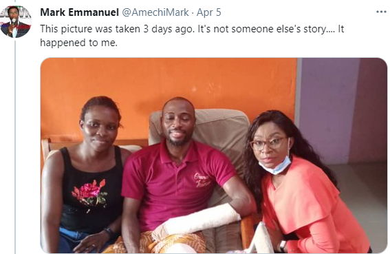 Nigerian man shares his chilling experience with kidnappers in Benin