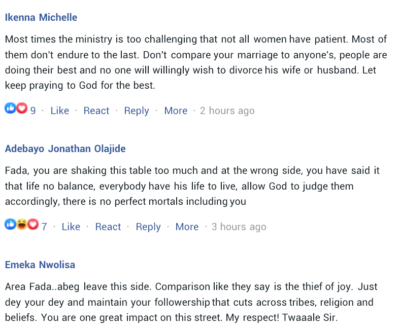 """Marriage is not a ticket to heaven"" - Nigerians react as Charly Boy compares himself with"