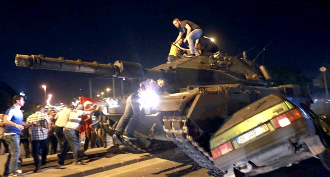 Turkey jails 22 ex-soldiers for life over 2016 coup attempt