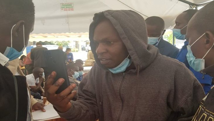 Man who sneaked out of court as magistrate wrote down his sentence arrested two years after disappearing