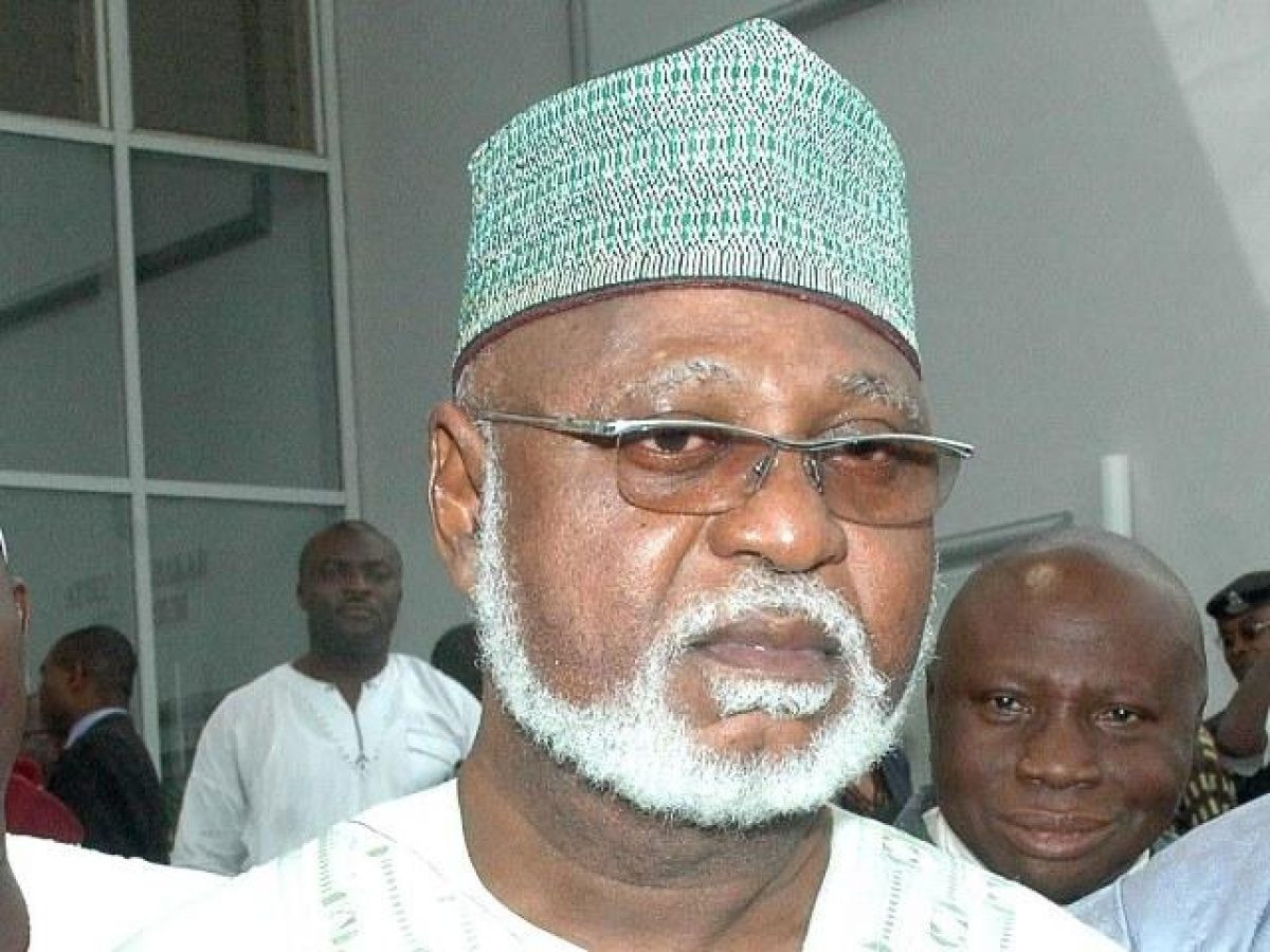 Over 6 million illegal weapons are in circulation across Nigeria - Former Head of State,  Abdulsalami Abubakar