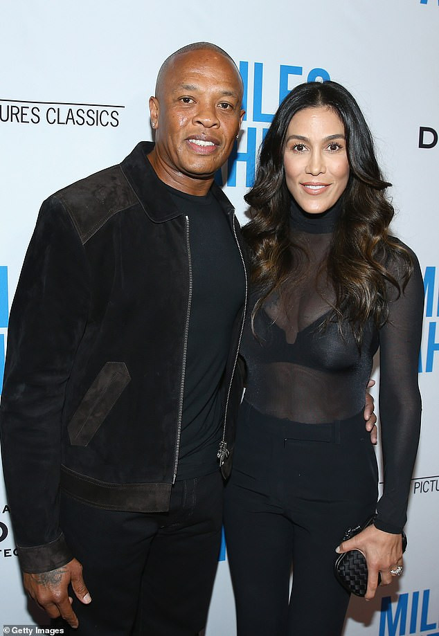 Dr. Dre denies his estranged wife Nicole Young