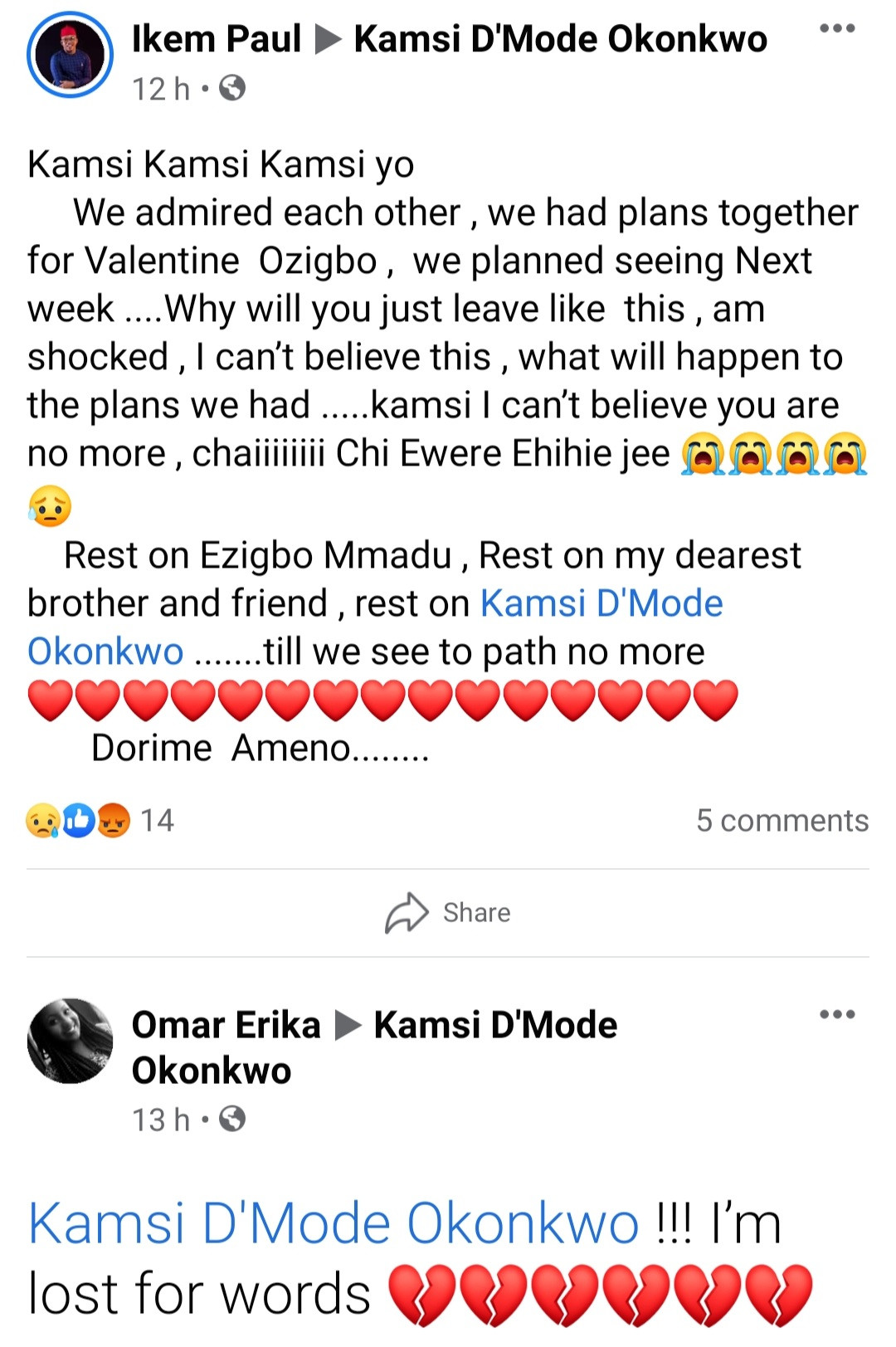 """ANSU graduate dies in car crash days after posting about """"the remedy to death"""""""