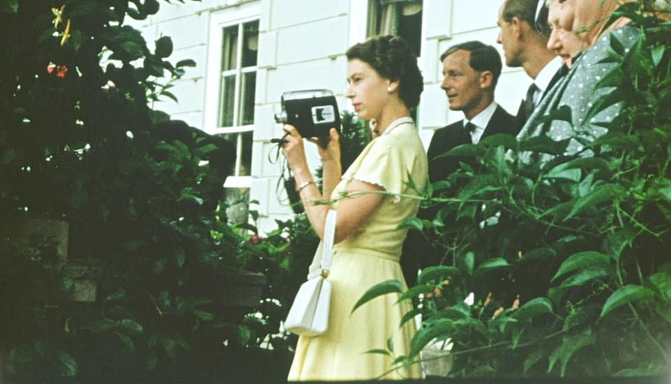 Private videos show Queen Elizabeth and Prince Phillip as you