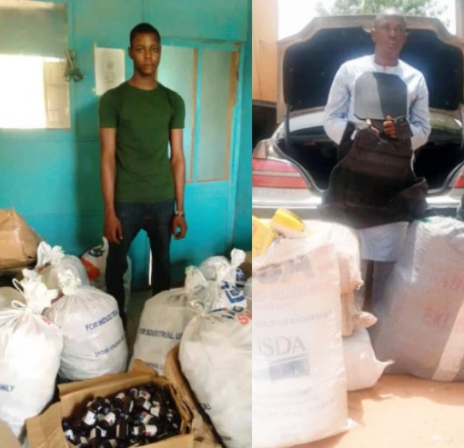 Trans-border trafficker nabbed with 280kg assorted drugs in Kebbi (photo)