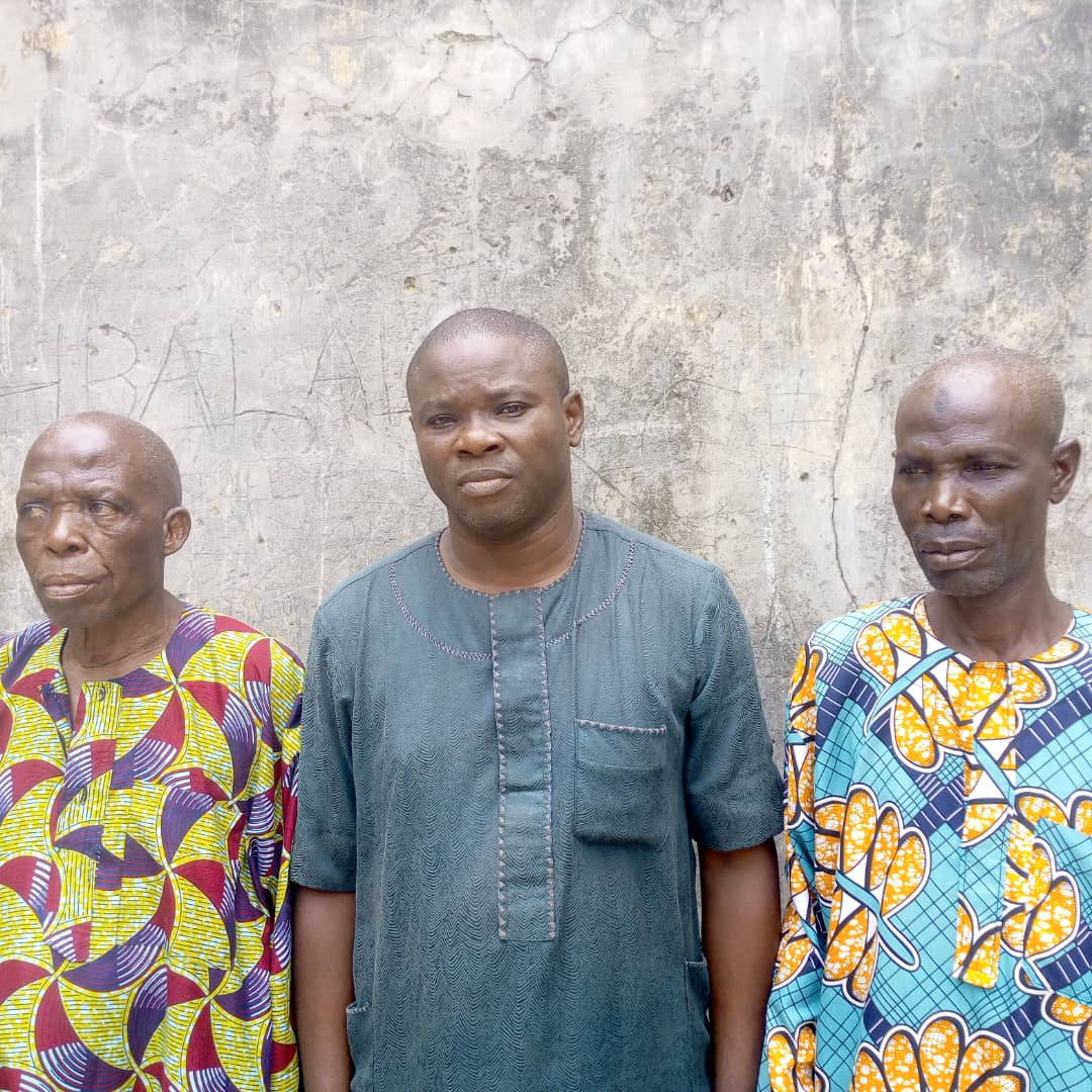 Three community leaders arrested for allegedly beating suspected burglar to death in Lagos