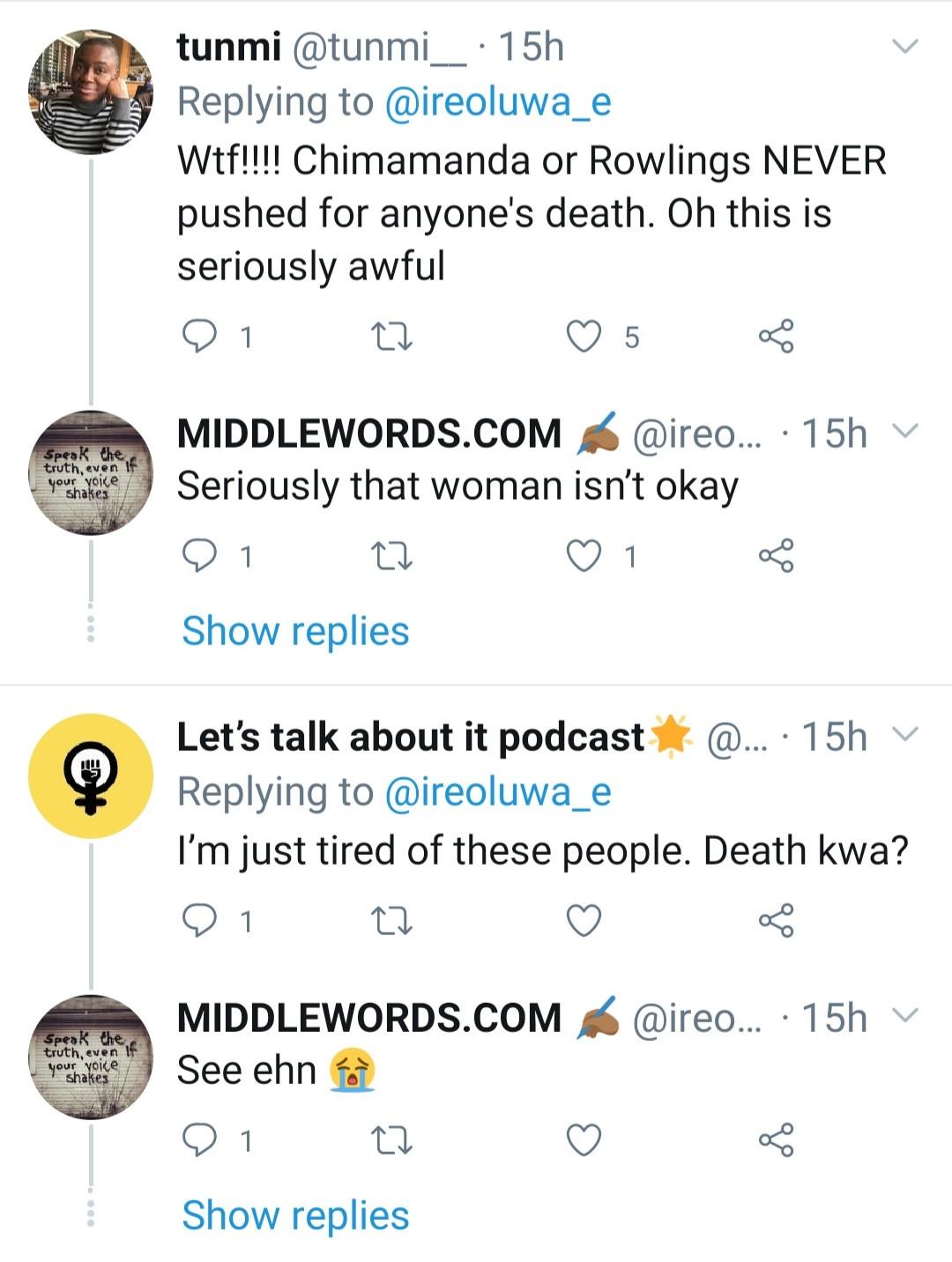 Nigerian writer Akwaeke Emezi calls out Chimamanda Adichie and JK Rowling; accuses them of supporting the killing of transgender children