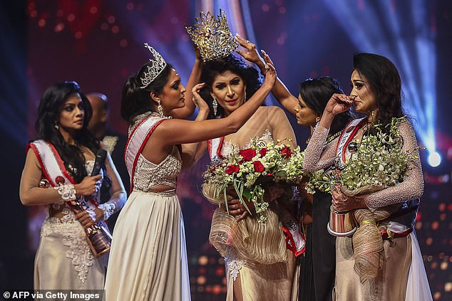 Update: Mrs. World released on bail after her arrest for allegedly injuring Mrs. Sri Lanka when she ripped crown from her head on stage?