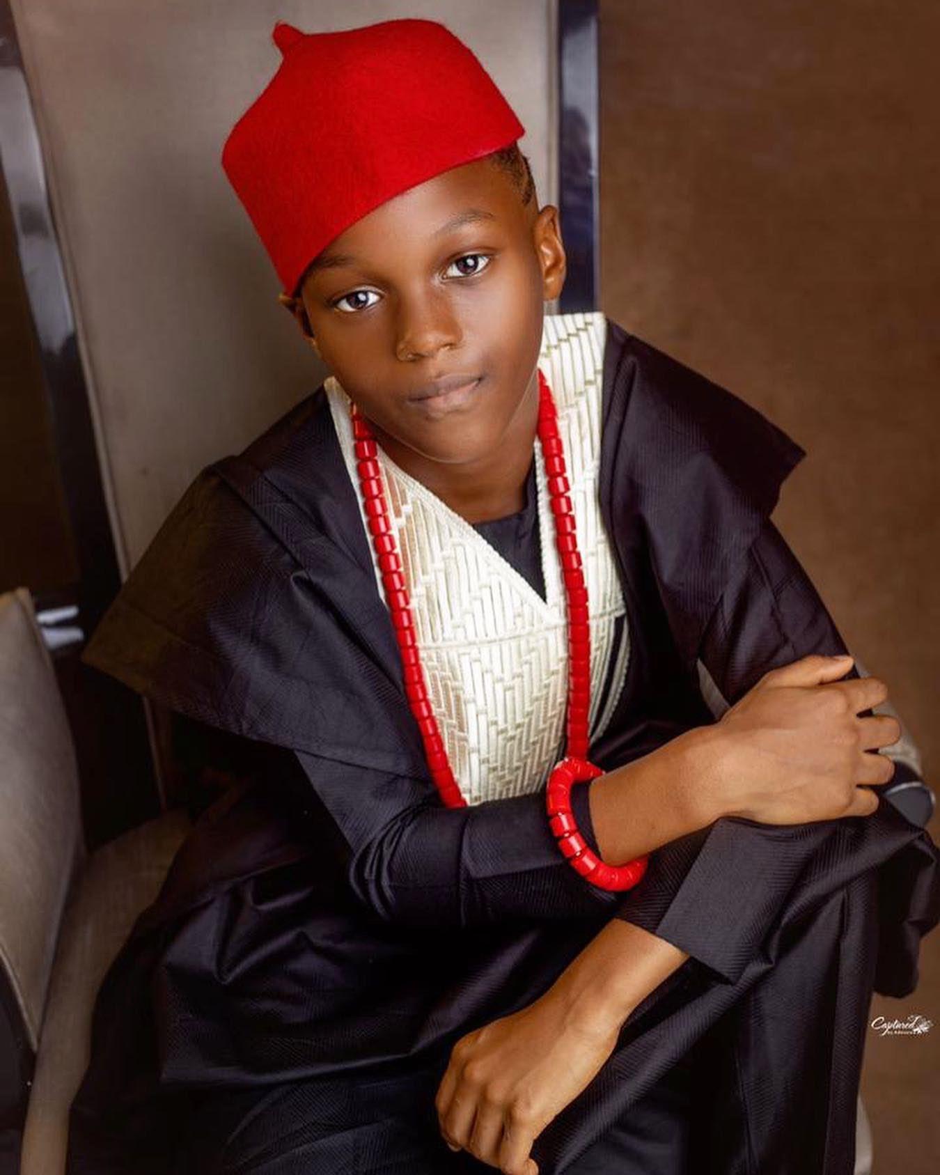 Singer, Paul Okoye shares lovely photos of his son, Andre, as he turns 8