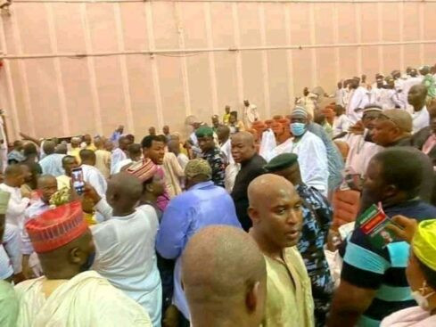 PDP Zonal Congress ends in chaos as thugs snatch ballot