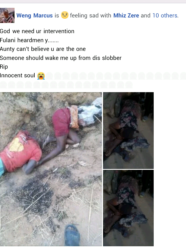 """""""God we need your intervention"""" - Young woman mourns her mother, sister, aunt killed by gunmen at mining site in Plateau"""