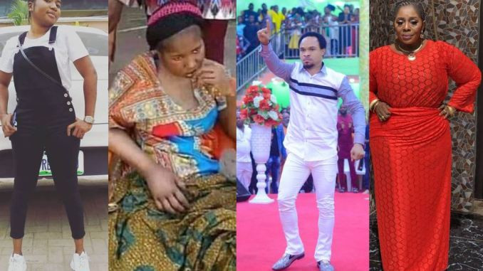 Prophet Odumeje and Actress Rita Edochie vow never to forgive comedienne Ada Jesus Jesus after her family brought her to his church to beg for forgiveness