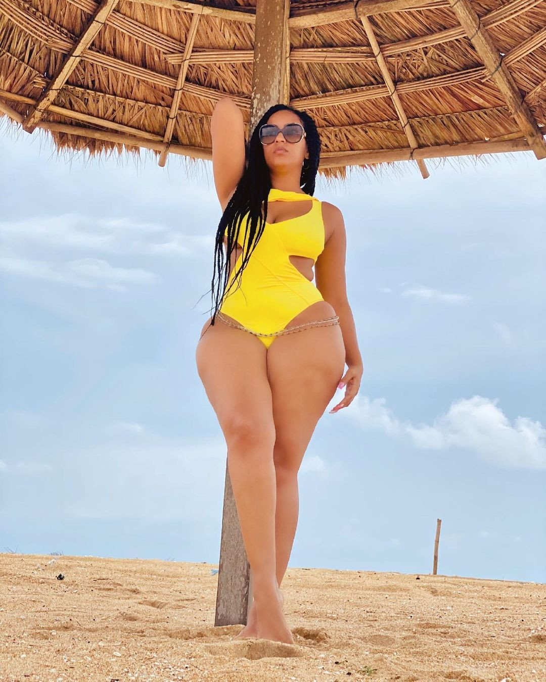 Juliet Ibrahim flaunts her curves in sexy swimwear photos