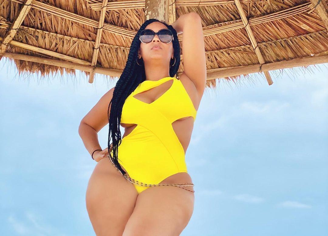 Juliet Ibrahim flaunts her curves in sexy swimwear photos