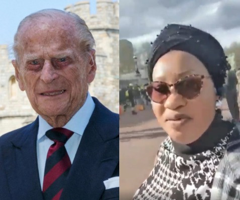 """They said we will collect Ankara or lace or Adire"" - Nigerian Alhaja speaks on Prince Philip"