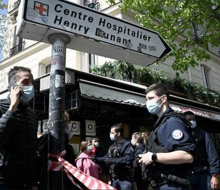 Paris on lockdown after deadly hospital shooting leaves one dead as gunman flees through city on motorbike