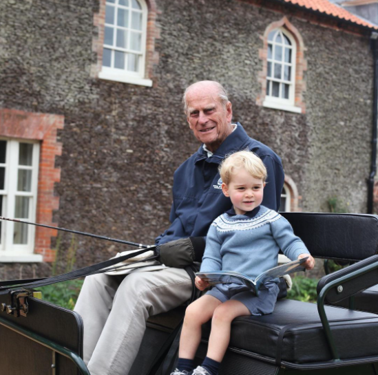 Prince William speaks publicly for first time following his grandfather