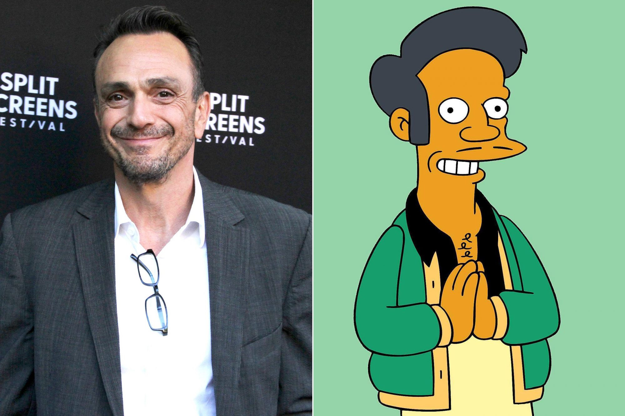 The Simpsons actor, Hank Azaria apologises for his part in