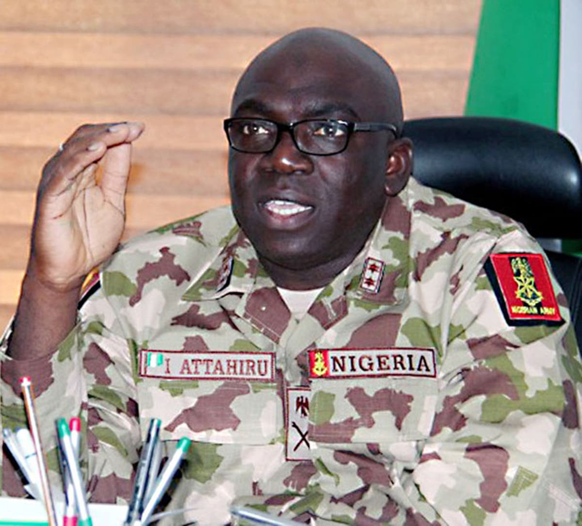 Issues of arms procurement were done by specific individuals, call these individuals to explain to you - COAS Ibrahim Attahiru tells House of Reps members