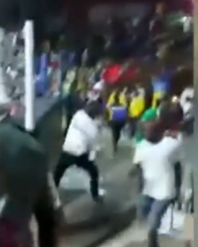 National Sports Festival: Team Ogun assault referee and their opponents after being defeated by Team Lagos in boxing tournament (video)