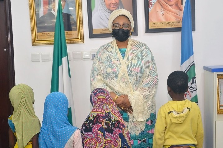 NAPTIP hands over 5 trafficked children to their parents, arraigns suspect in court