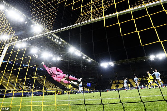 Dortmund 1 Man City 2: (Agg 2-4) Mahrez and Foden inspire comeback as City progress to Champions League semi-final