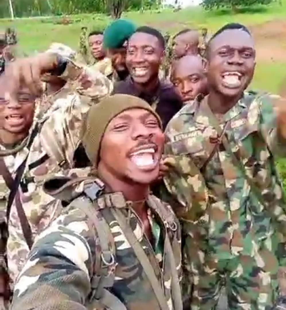 Soldiers sing anti-boko haram song in heart warming video