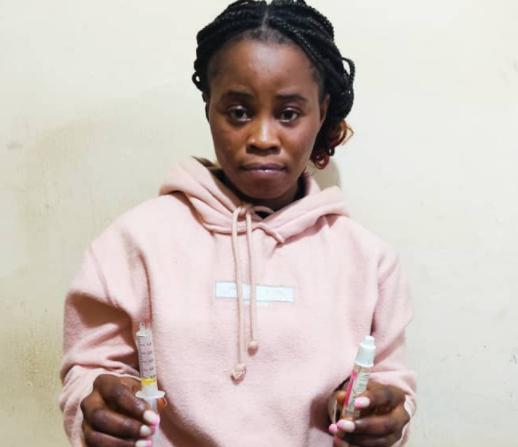 Woman arrested for allegedly murdering her three year old stepson in Enugu