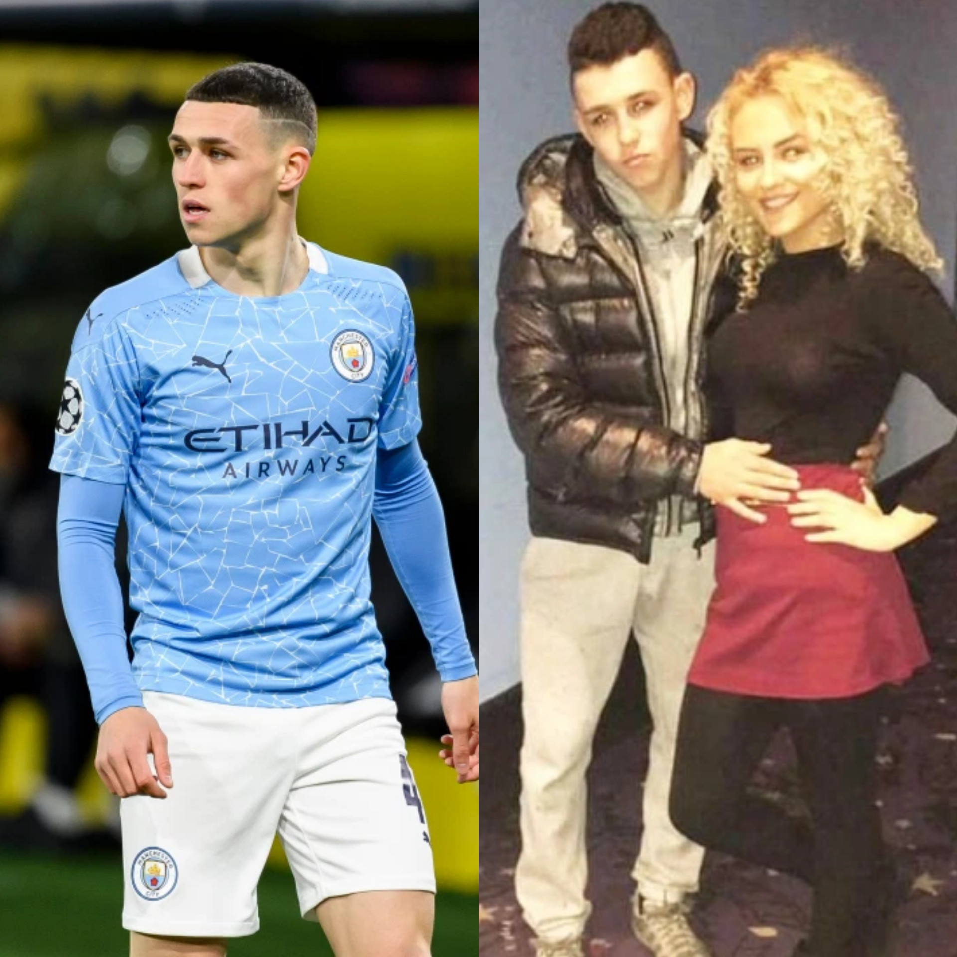 Man City star Phil Foden, 20, reveals he and childhood sweetheart are expecting a second baby