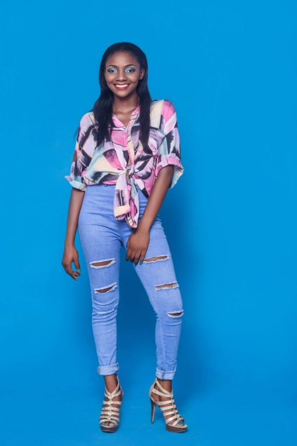 Love yourself the way you are - Simi writes