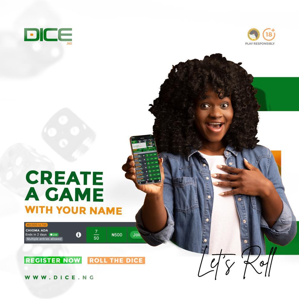 Create a game and win big on Dice lindaikejisblog