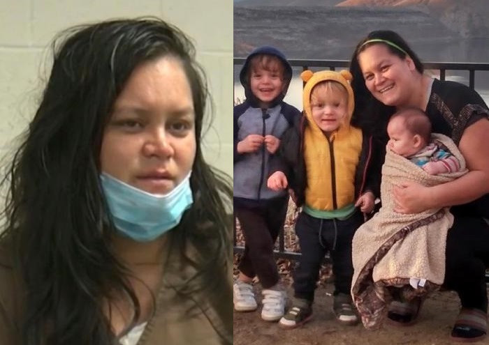"""I drowned them, I did it as softly as I could""""- Mom admits to killing her three young children in chilling jail interview"""