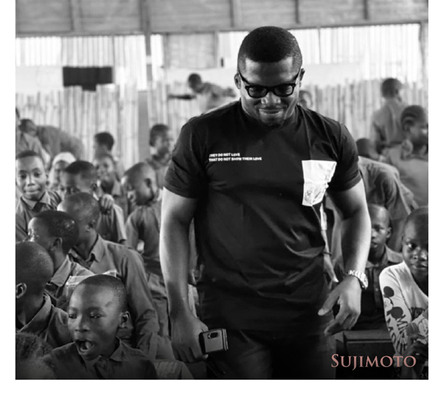 Sujimoto Gives Bags Of Goodies, Cash Prizes & A Lifetime Scholarship To Students Of The Lagos Free Slum School, Ilaje, Bariga, Lagos