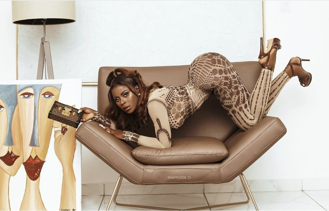 BBNaija star, Koko puts her hot body on display in see through outfit (photos/video)