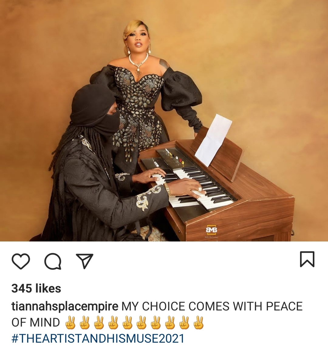 """My choice comes with peace of mind"" Toyin Lawani releases pre-wedding photos with her man, Segun Adebayo"