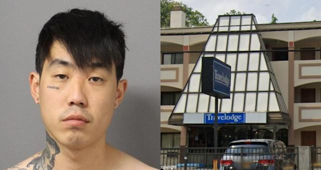 Robber arrested after giving couple his ID when he broke in and stole their money in hotel