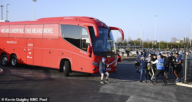 #EuropeanSuperLeague: Liverpool coach Jurgen Klopp calls for calm after angry fans try to stop team bus from arriving at stadium (photos)