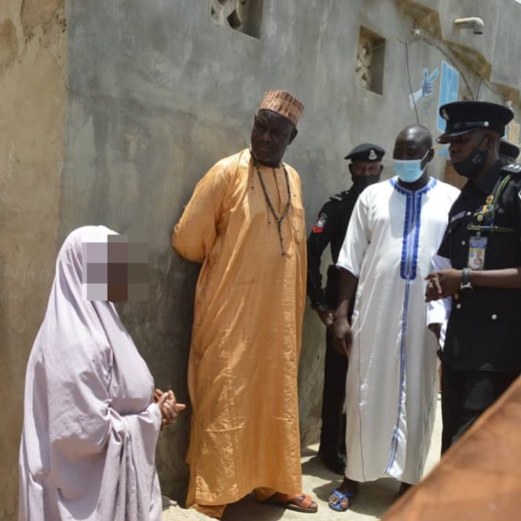 Police rescue 15 year old girl allegedly confined in a room for 10 years by parents in Kano (photos)