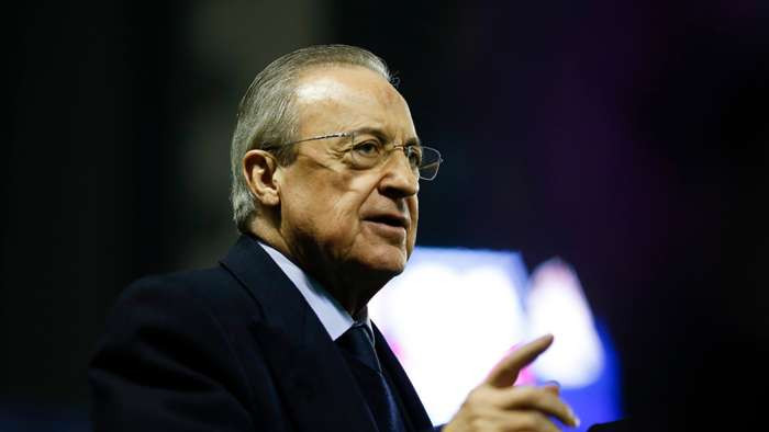 #EuropeanSuperLeague: Real Madrid president Florentino Perez laughs off UEFA threats to ban players from playing in world cup and Euros