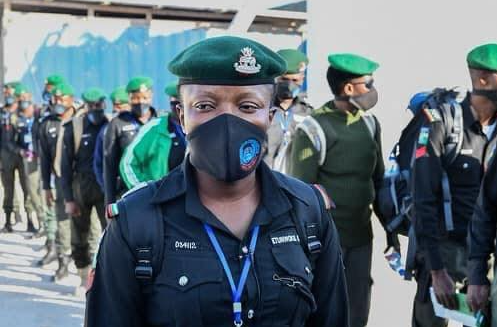 144 Nigerian police officers deployed to Somalia to train men of the Somalia Police Force